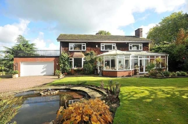Thumbnail Detached house for sale in Chester Road, Middlewich, Cheshire