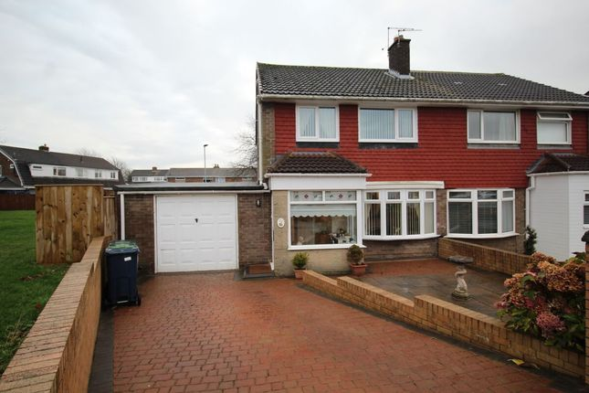 Thumbnail Semi-detached house for sale in Tamerton Drive, Birtley, Chester Le Street
