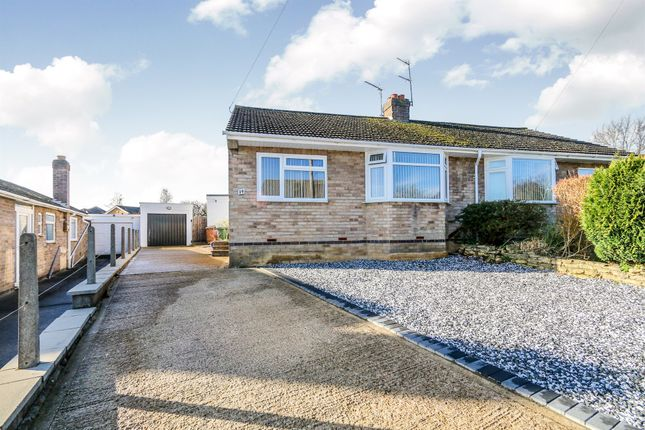 Thumbnail Semi-detached bungalow for sale in Harvey Road, Wellingborough
