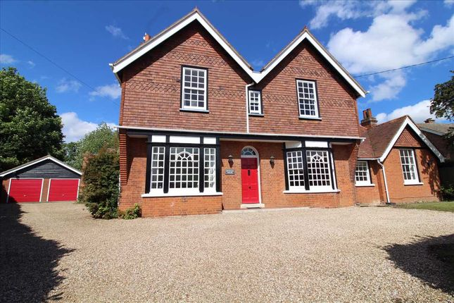 Thumbnail 5 bed detached house for sale in The Street, Holbrook, Suffolk