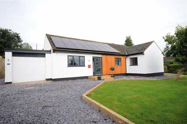 Thumbnail Detached bungalow for sale in Rock Crescent, Oulton, Stone