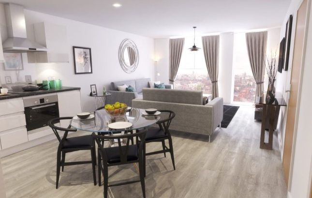 Thumbnail Flat for sale in Trafford Plaza Apartments, Seymour Grove, Manchester