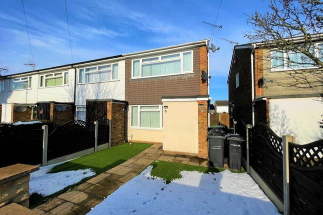 2 bed end terrace house to rent in Rochester Road, Gravesend DA12