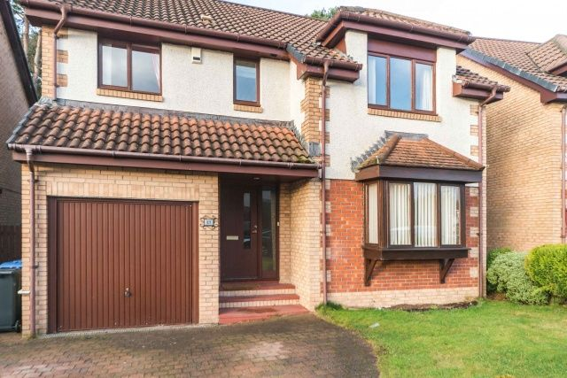Thumbnail Detached house for sale in Lady Place, Livingston, West Lothian