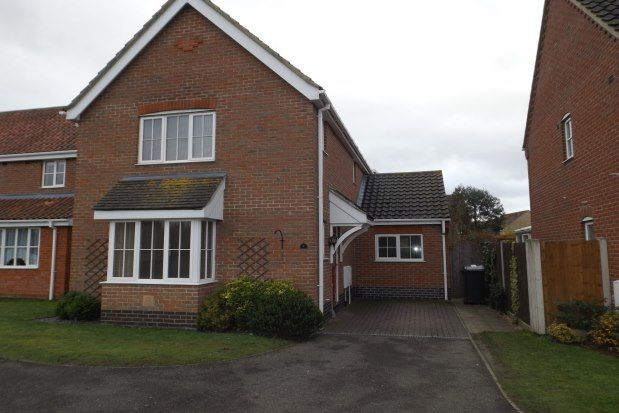 3 bed detached house to rent in Pepys Avenue, Beccles NR34