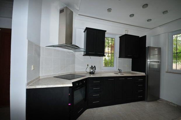Modern Kitchen of Upper Ovacik, Fethiye, Muğla, Aydın, Aegean, Turkey