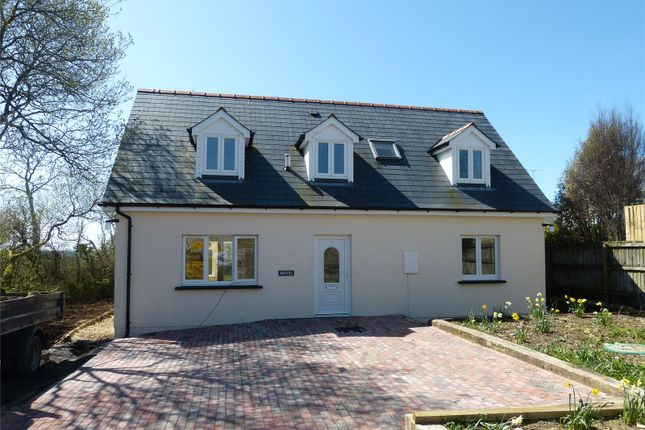 Thumbnail Detached bungalow for sale in Bryony, Plot 2, R/O Honeyborough, Ludchurch, Narberth, Pembrokeshire