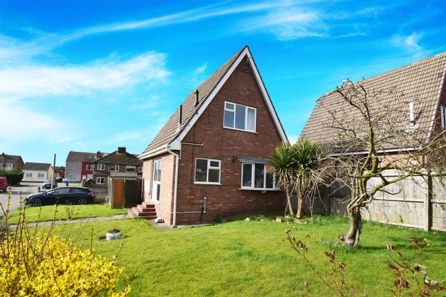 Thumbnail Detached house for sale in Park Close, Pinxton, Nottingham