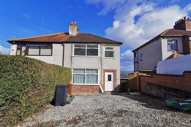 Semi-detached house for sale in Brynford Road, Holywell, Flintshire