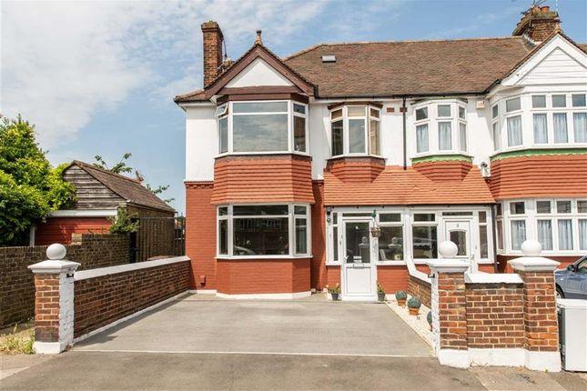 Thumbnail End terrace house for sale in Hawthorne Avenue, Rainham, Gillingham