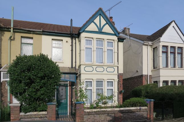 Thumbnail Semi-detached house for sale in Baffins Road, Portsmouth