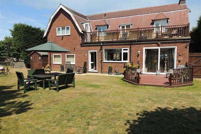 Thumbnail Detached house for sale in Buxton Road, Hazel Grove, Stockport