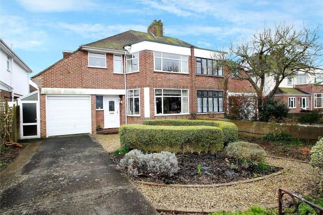 Thumbnail Semi-detached house for sale in Trent Road, Goring By Sea, Worthing