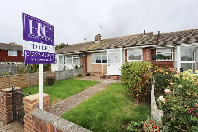 Thumbnail Terraced bungalow to rent in Aberdale Road, Polegate, East Sussex