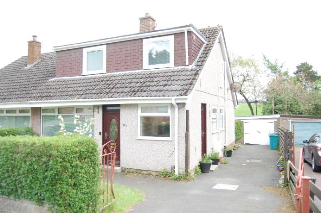 Thumbnail Semi-detached house to rent in Hillfoot Avenue, Wishaw