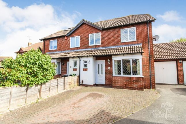 Thumbnail Semi-detached house for sale in Barley Close, Thatcham
