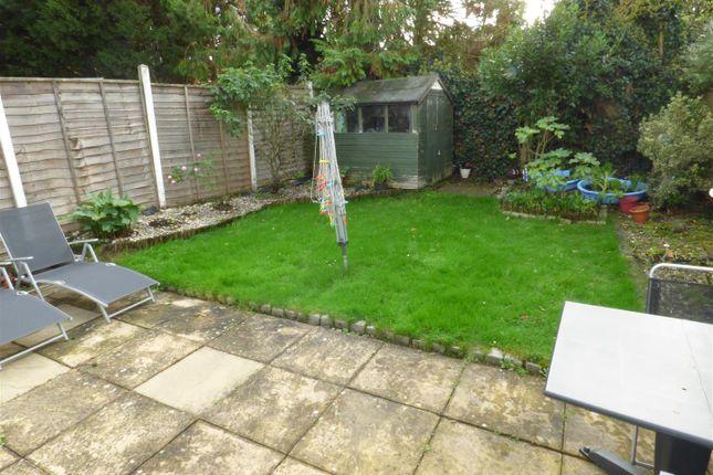 Rear Garden of Stevenage Crescent, Borehamwood WD6