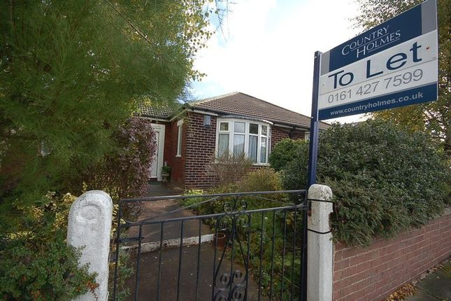Thumbnail Bungalow to rent in Marina Drive, Marple, Stockport