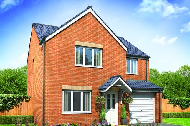 "Thumbnail Detached house for sale in ""The Roseberry"" at Prestwick Road, Dinnington, Newcastle Upon Tyne"
