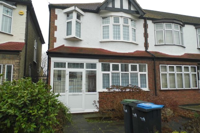 Thumbnail End terrace house for sale in Blakesware Gardens, Bush Hill Park Borders