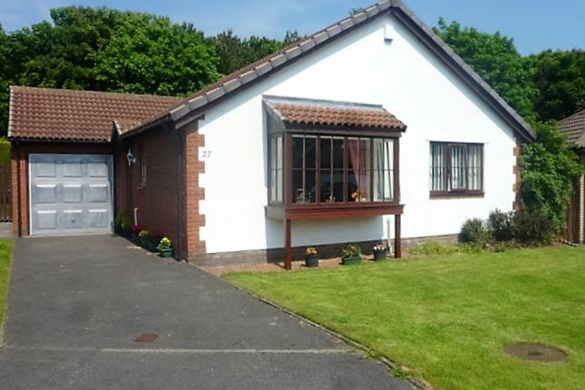 Thumbnail Detached bungalow for sale in Thornbury Avenue, Seghill, Cramlington