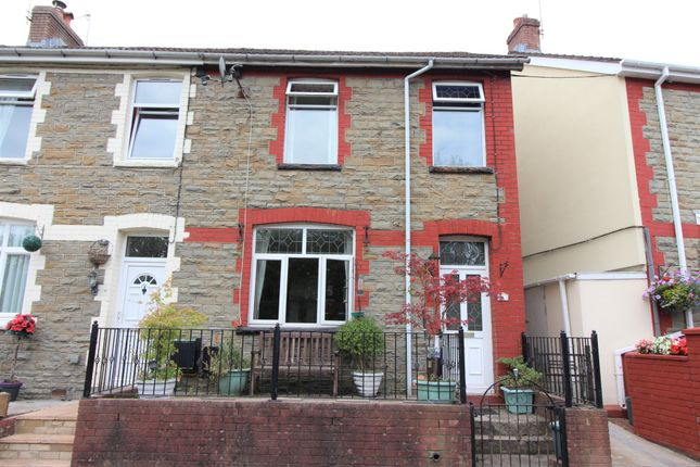Thumbnail End terrace house for sale in Kennard Terrace, Crumlin, Newport