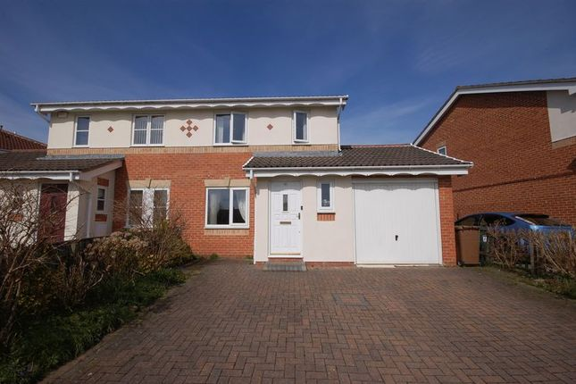 Thumbnail Semi-detached house to rent in Woodlea, Forest Hall, Newcastle Upon Tyne