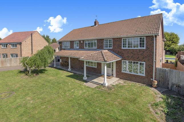 Thumbnail Detached house for sale in New Dale House, Hull Road, Hemingbrough, Selby