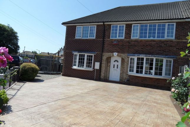 Thumbnail Semi-detached house for sale in St. Patricks Way, Scawsby, Doncaster
