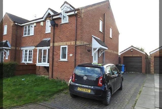 Thumbnail Semi-detached house to rent in Robinswood Drive, Leadhills Way, Hull