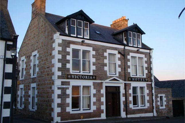 Thumbnail Commercial property for sale in Victoria Hotel, Portknockie, Buckie, Moray, Scotland