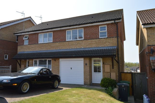 Thumbnail Semi-detached house to rent in Bunting Close, St Leonards-On-Sea