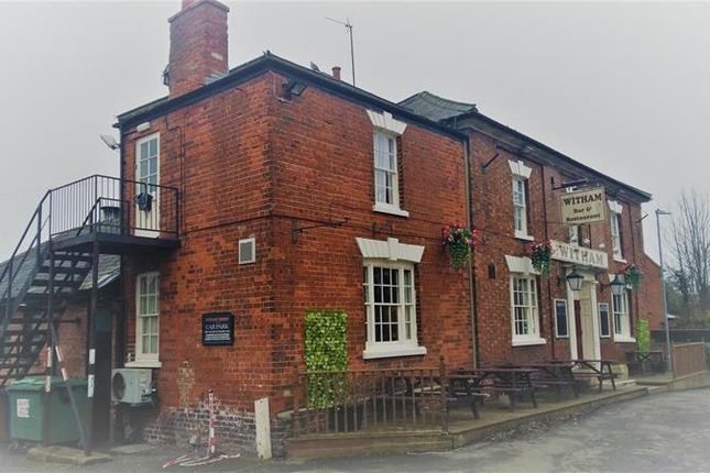 Thumbnail Leisure/hospitality for sale in Witham Tavern, Witham Bank East, Boston