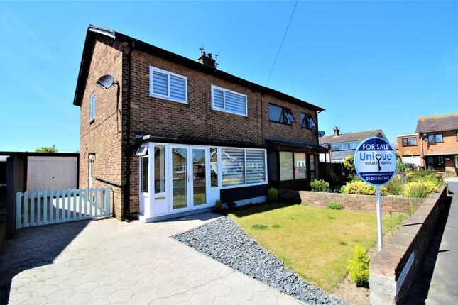 Thumbnail Semi-detached house for sale in Rudyard Place, Lytham St. Annes