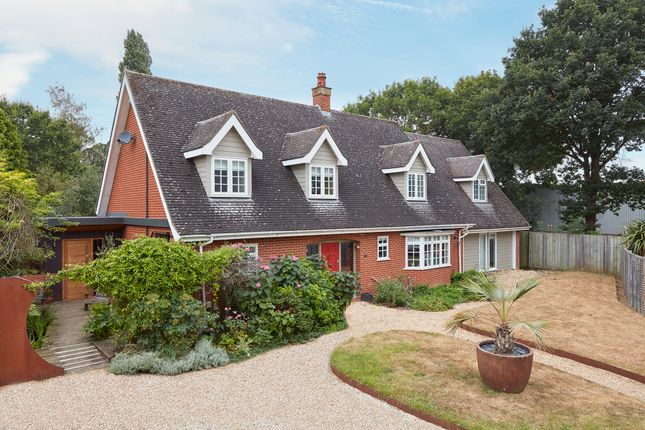 Thumbnail Detached house for sale in Westley Road, Bury St. Edmunds