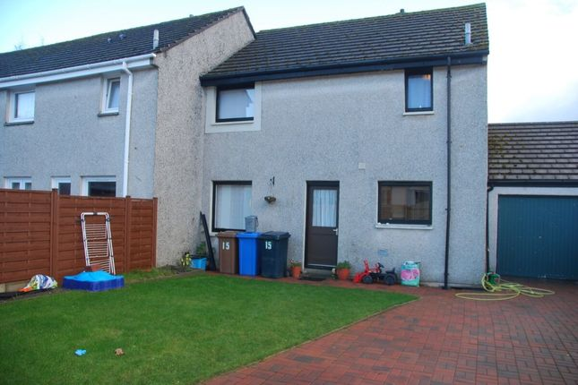 Thumbnail Terraced house to rent in Canal Terrace, Inverness