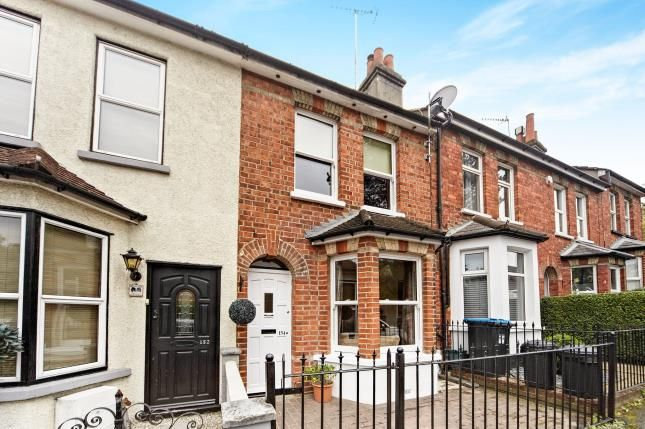 Thumbnail Terraced house for sale in Godstone Road, Caterham, Surrey