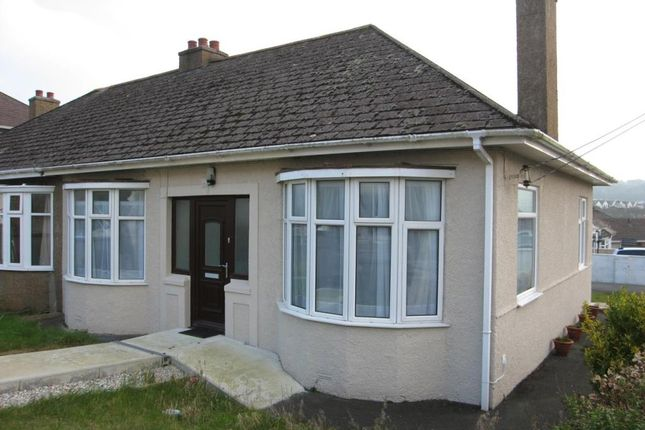 Thumbnail Bungalow to rent in Quarry Park Road, Plymstock, Plymouth, Devon