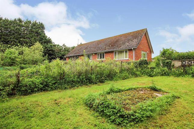 Thumbnail Detached bungalow for sale in Evesham Road, Egdon, Worcester