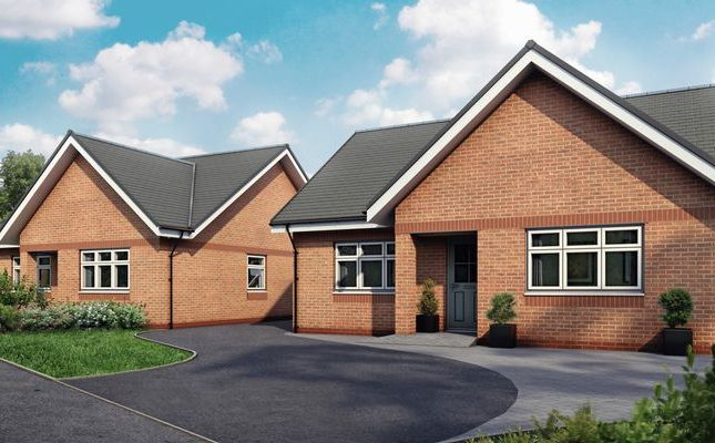 Thumbnail Detached bungalow for sale in Rees Park, Burscough, Ormskirk