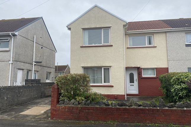 3 bed semi-detached house to rent in Crimson Avenue, Port Talbot, Neath Port Talbot. SA12