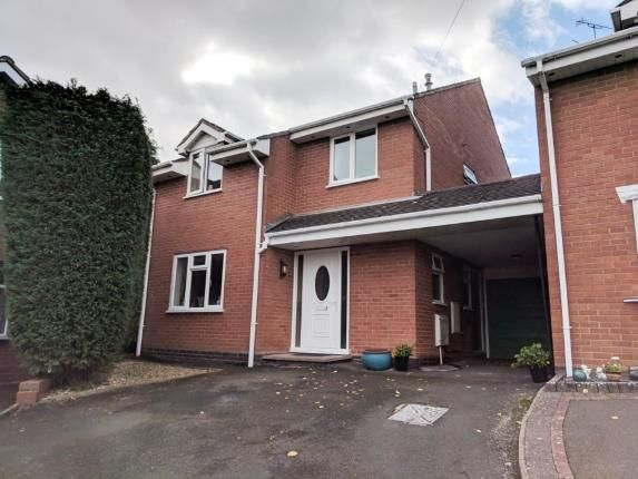 Thumbnail Link-detached house for sale in Dene Avenue, Kingswinford, West Midlands
