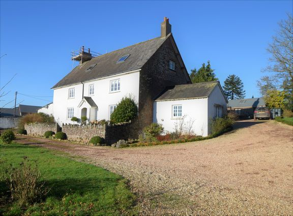 Thumbnail Detached house for sale in Stoodleigh, Tiverton