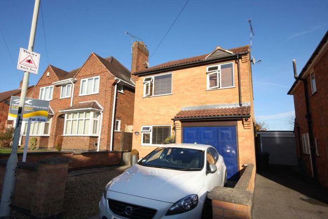 3 bed detached house for sale in Dalby Road, Anstey, Leicester