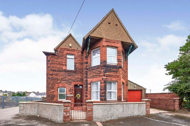 Thumbnail Detached house for sale in Queen Street, Aspatria, Wigton, Cumbria