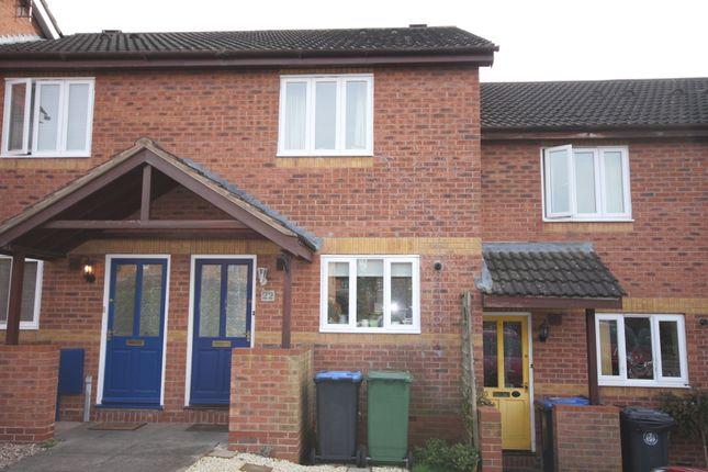 Thumbnail Terraced house for sale in Blenheim Close, Bidford On Avon