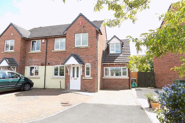 Thumbnail Semi-detached house for sale in Helvellyn Rise, Carlisle