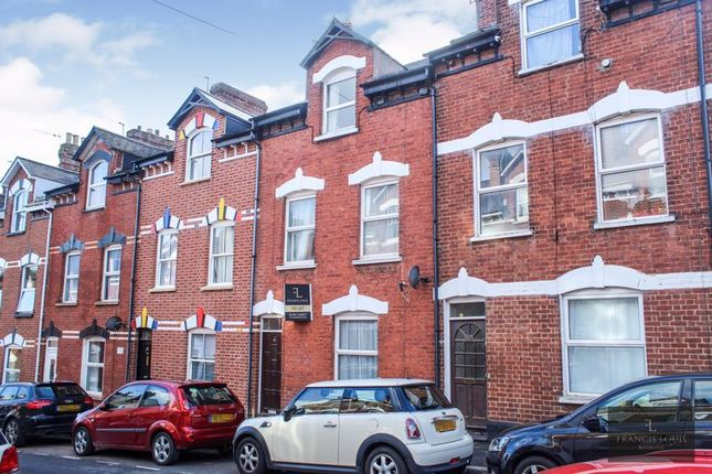 Thumbnail Terraced house to rent in Springfield Road, Exeter