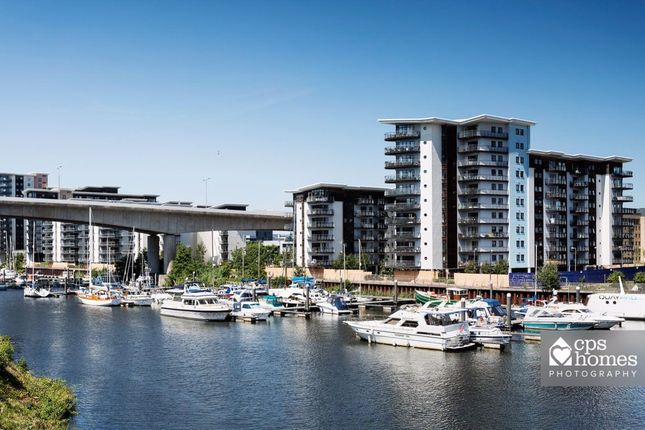 Thumbnail Flat to rent in Victoria Wharf, Watkiss Way, Cardiff