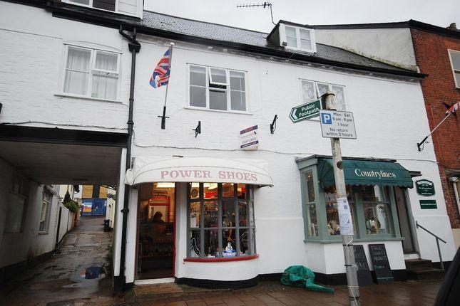 Thumbnail Retail premises to let in St. John Close, High Street, Honiton